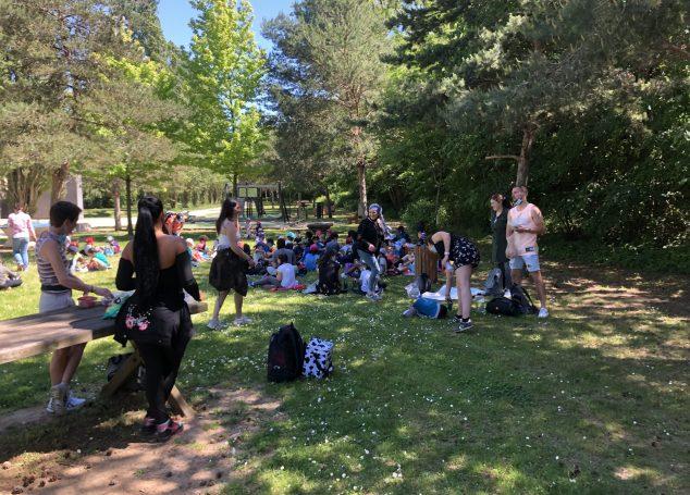 Journée «Colonie» au parc du Grand Godet